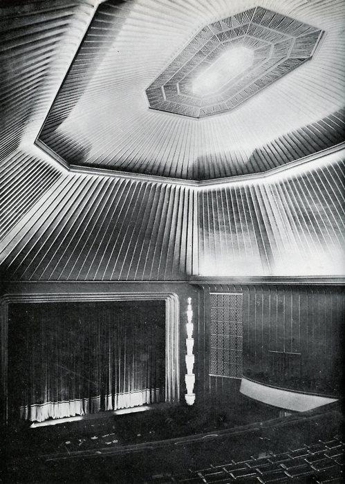CAPITAL MOVIE THEATER, BERLIN Poelzig