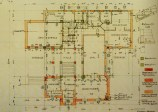 Construction plan, November 1926, signed by Engelmann and Wittgenstein, Courtesy of Baupolizei, Rathaus Wien
