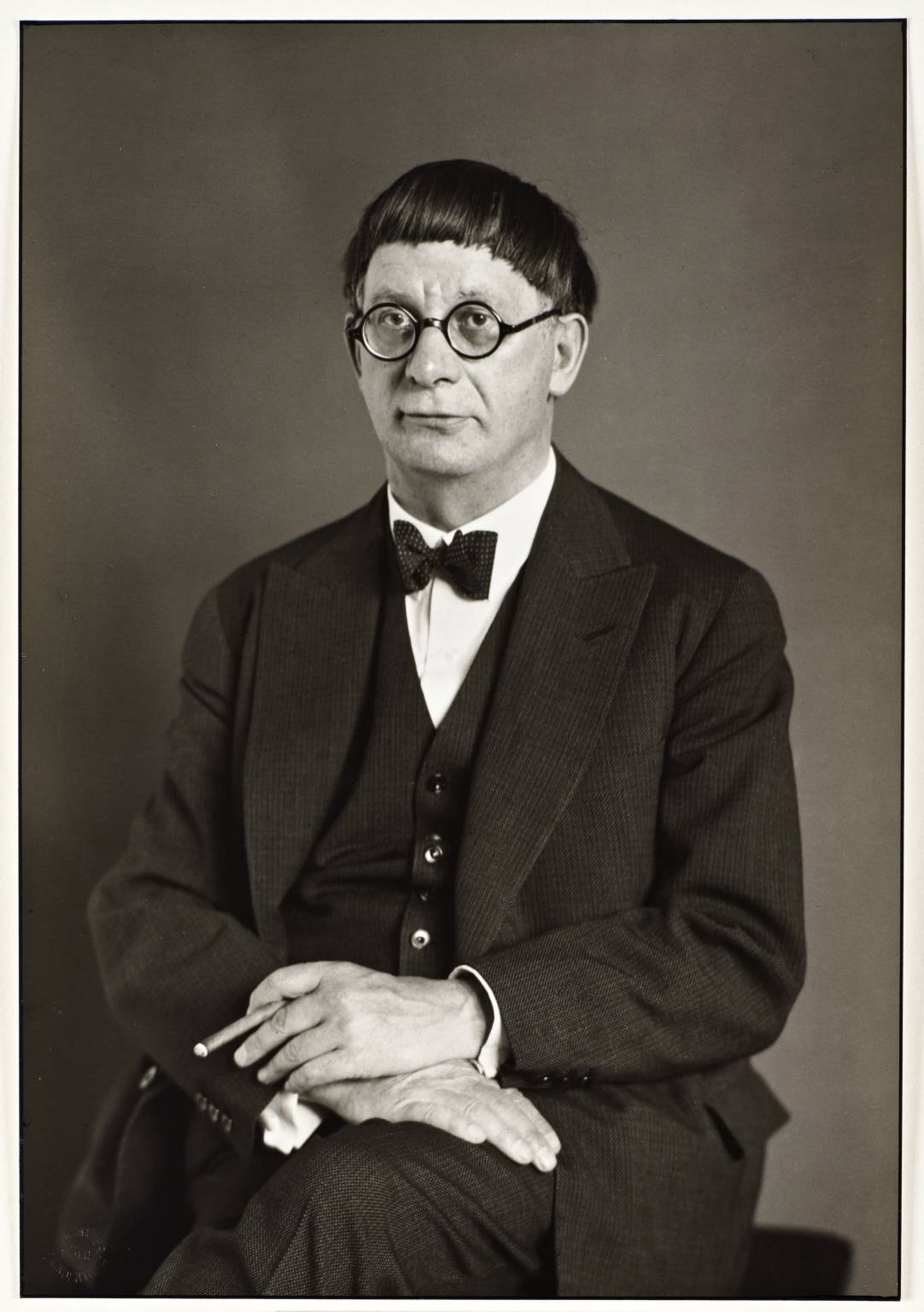 The Architect [Hans Poelzig] 1929 August Sander 1876-1964 ARTIST ROOMS Tate and National Galleries of Scotland. Lent by Anthony d'Offay 2010