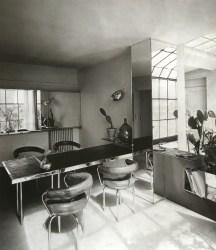 Salle à manger de l'appartement-atelier Place St Sulpice, 1927