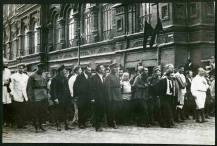 1926. Похороны Дзержинского — with Leon Trotsky.