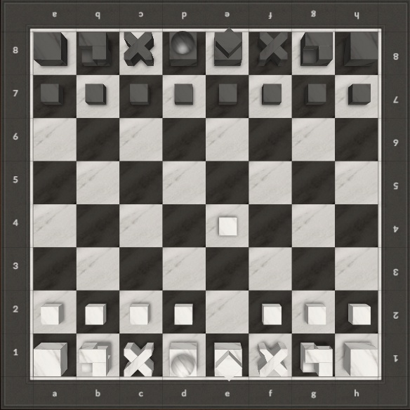 click through the pictures in the gallery below to view an enlarged version of the gameu0027s sequence played on josef bauhaus chess set
