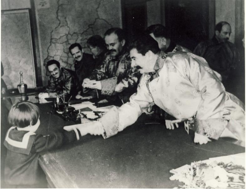 Сталин_и_Геля_Маркизова