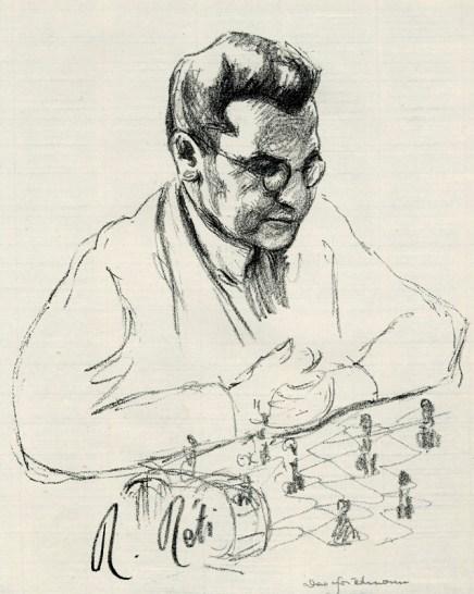 Friedmann - Köpfe berühmter Schachmeister