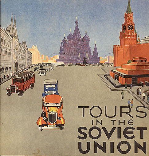 Travel brochure «Tours in the Soviet Union» circa 1932. Published by Intourist