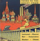 Travel brochure «Tours to the Soviet Union» circa 1932. Published by Intourist