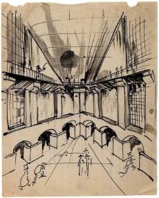 A Vlasov, railway station sketches 1923a