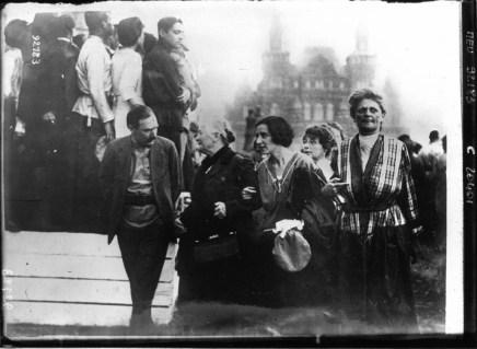 Клара Цеткин и её соратницы на Международном коммунистическом конгрессе в Москве. 1921 год.