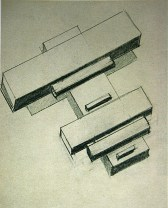 Чашник Илья %22Архитектурный эскиз%22 1926-1927 Бумага, графитный карандаш 17