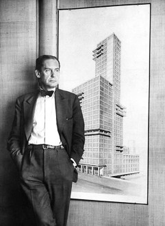 Gropius with tribune tower