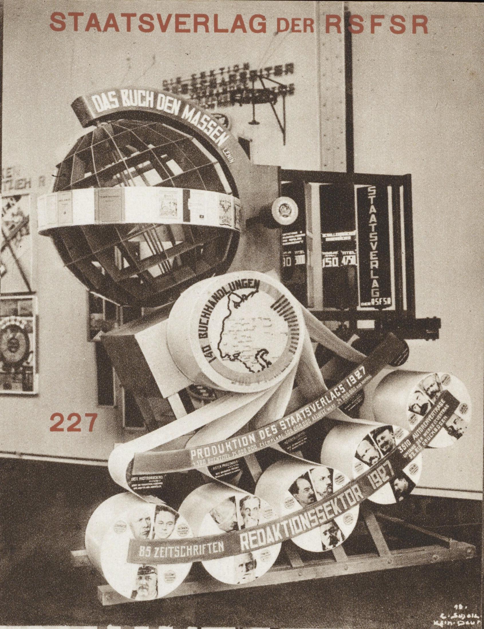 Katalog des Sowjet-Pavillons auf der Internationalen Presse-Ausstellung Köln 1928, pgs 18-20b1