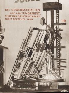 Katalog des Sowjet-Pavillons auf der Internationalen Presse-Ausstellung Köln 1928, pgs 9-11b1