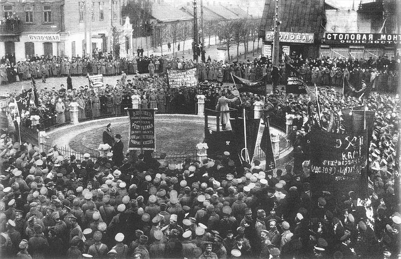 1er Mai 1917 à Minsk (aujourd'hui au Bélarus, alors sous l'empire tsariste)