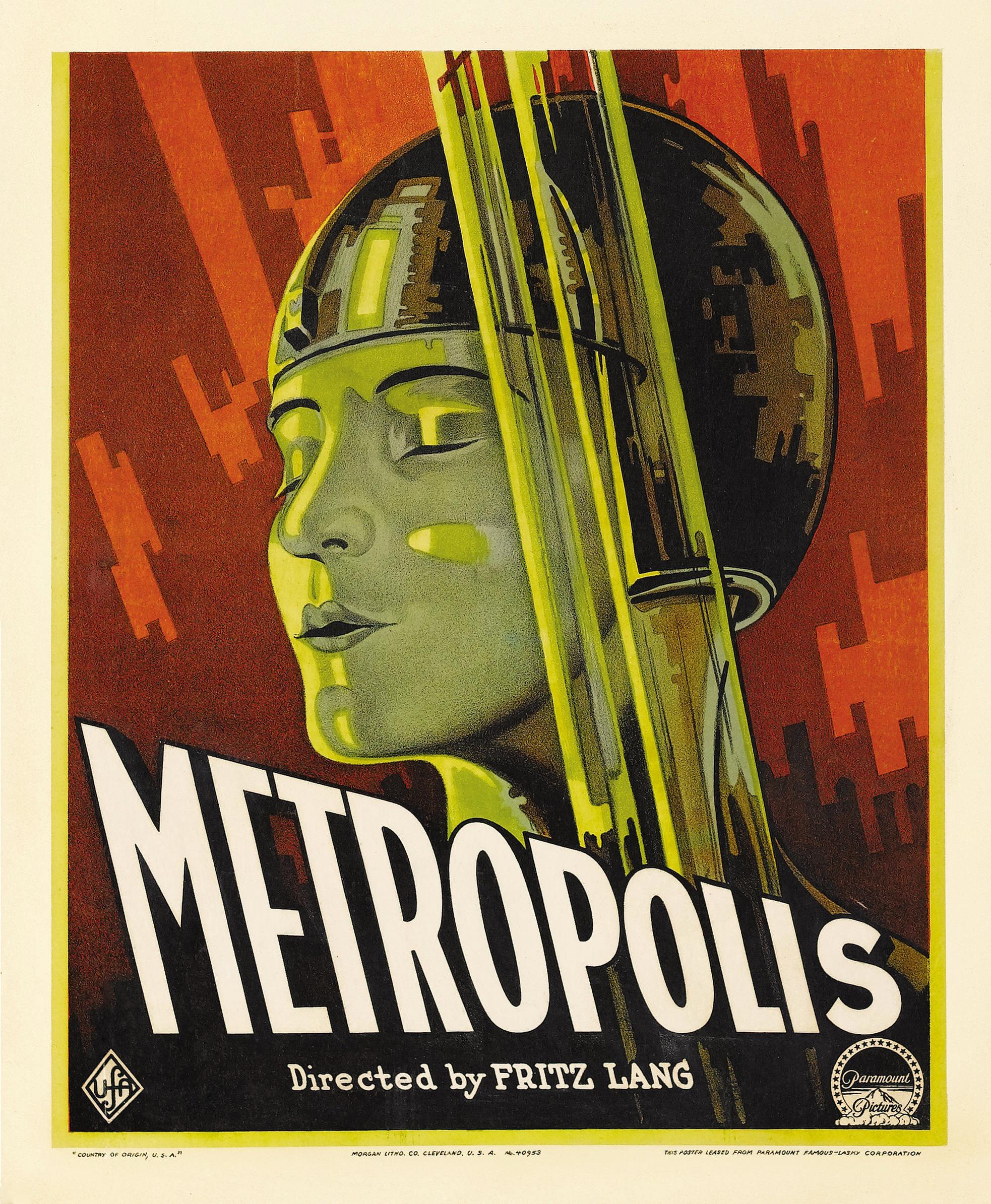 Metropolis-movie-posters