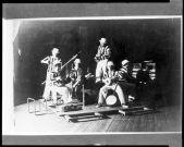 T. Lux Feininger American (Berlin, Germany 1910 - 2011 Cambridge, Massachusetts) Copy Print- Bauhaus Band, 1927 (printed 1949) Photograph German, 20th century Gelatin silver print image- 11.3 x 17 cm (4 7:16 x 6 11:16 in.)