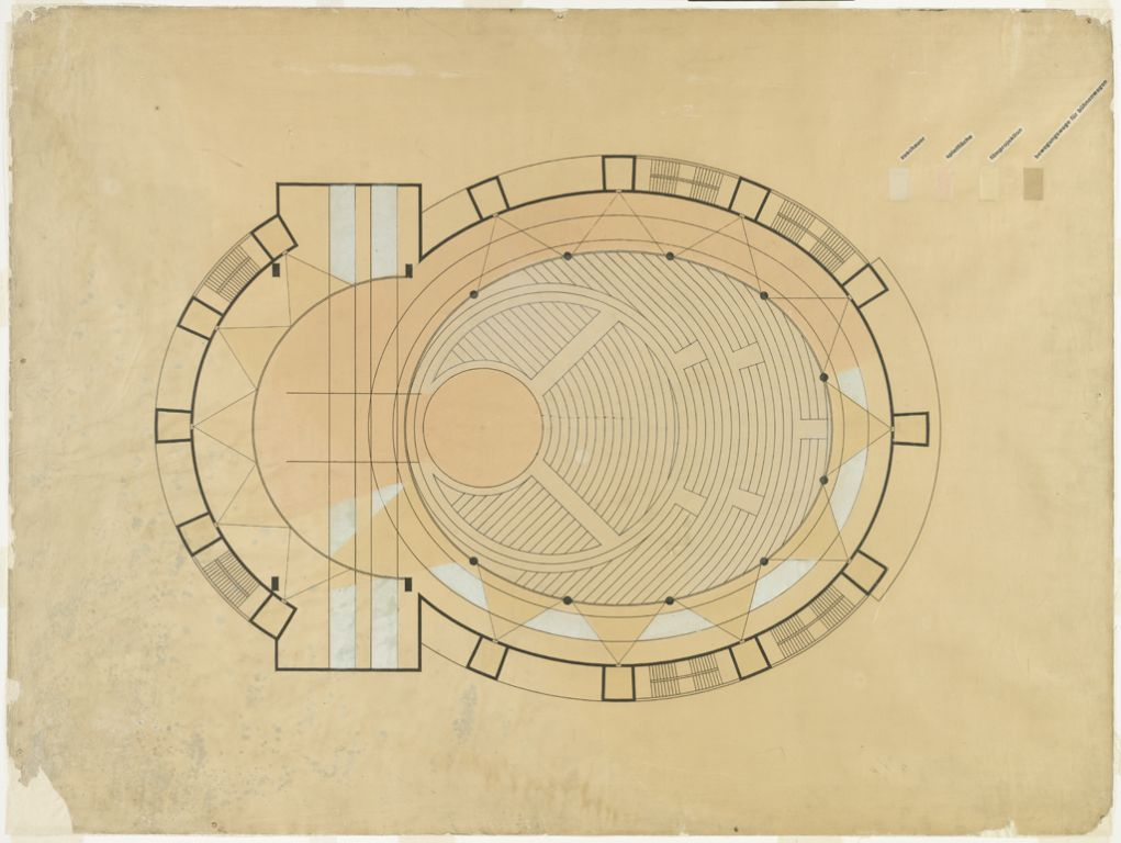Total Theater for Erwin Piscator, Berlin, 1927j