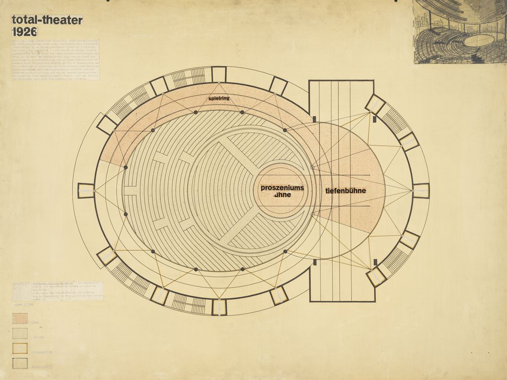 Total Theater for Erwin Piscator, Berlin, 1927k