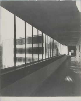 Unidentified photographer Bauhaus Building, Dessau, 1925-1926 ae
