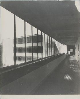 Unidentified photographer Bauhaus Building, Dessau, 1925-1926 ae