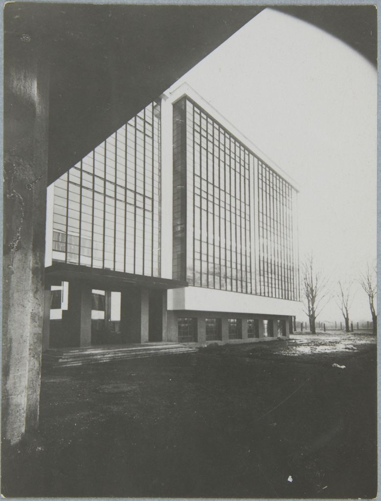 Unidentified photographer Bauhaus Building, Dessau, 1925-1926 n