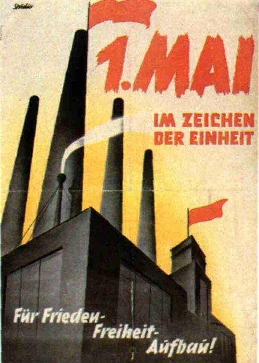 1.Mai Plakate 1900 bis 1989 d
