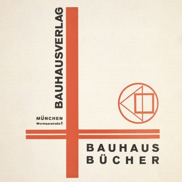 Bauhausbücher covers, № I-XIV (1925-1930)
