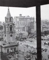 Страстная площадь (съемка из здания редакции газеты «Известия»). 1930