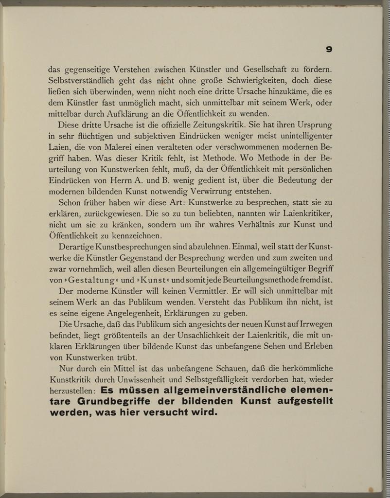 Theo van Doesburg, Grundbegriffe der neuen gestaltenden Kunst. Bd. 6, München 1925%0ATheo van Doesburg, Grundbegriffe der neuen gestaltenden Kunst. Bd. 6, München 1925-11