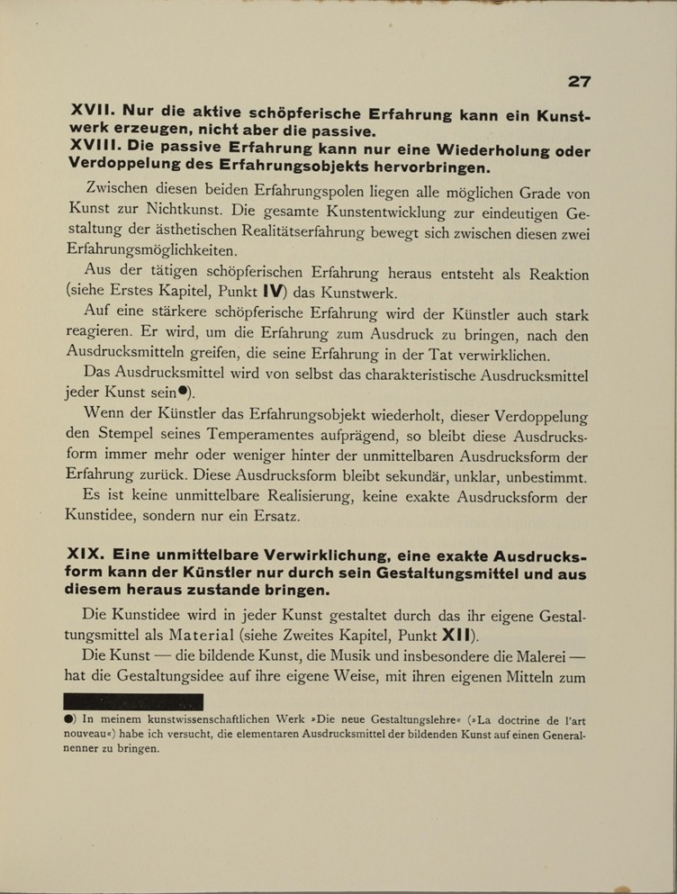 Theo van Doesburg, Grundbegriffe der neuen gestaltenden Kunst. Bd. 6, München 1925%0ATheo van Doesburg, Grundbegriffe der neuen gestaltenden Kunst. Bd. 6, München 1925-29