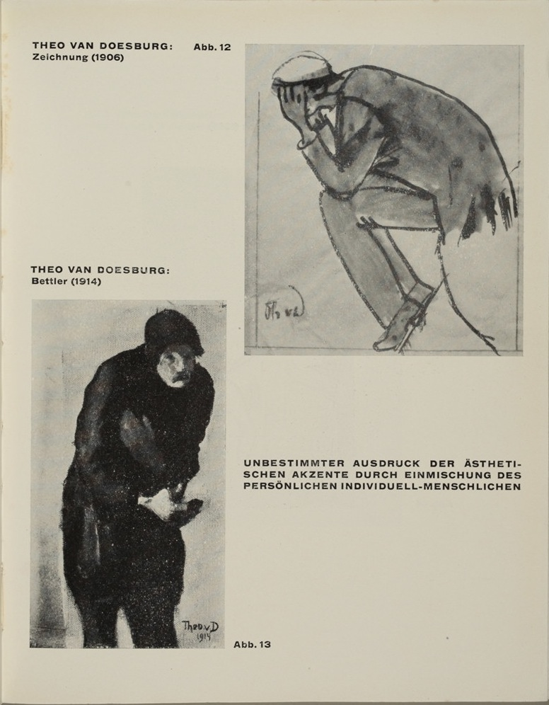 Theo van Doesburg, Grundbegriffe der neuen gestaltenden Kunst. Bd. 6, München 1925%0ATheo van Doesburg, Grundbegriffe der neuen gestaltenden Kunst. Bd. 6, München 1925-51