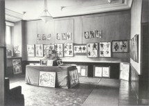 Vesnin and Rodchenko exhibition, 1923