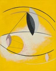 László Moholy-Nagy (Hungarian, 1895-1946), Gal Ab I, 1930. Oil on galalith, 53.3 x 41.9 cm.