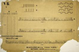 Ville contemporaine de trois millions d'habitants, Sans lieu, 1922 f