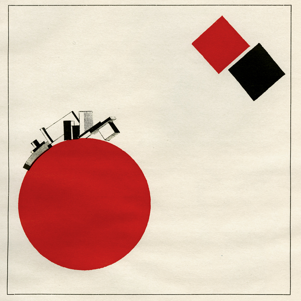 El Lissitzky, About Two Squares (1922)