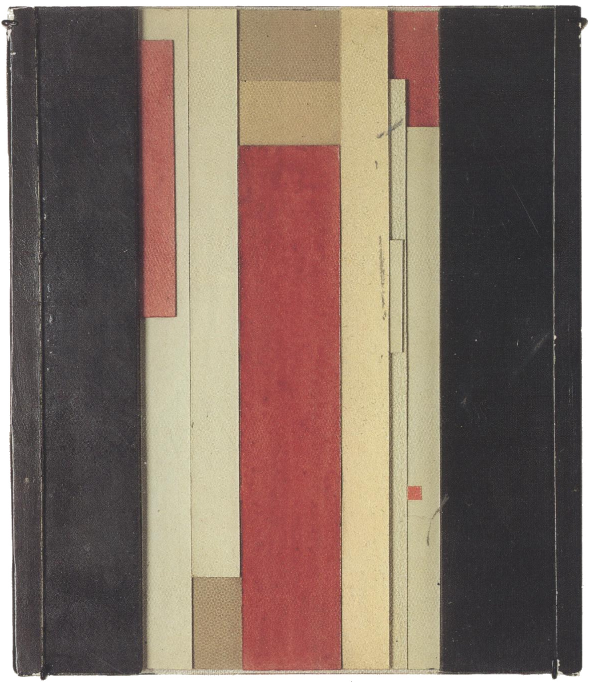 Il'ia Chashnik, the Seventh Dimension, Suprematist stripe relief 1925