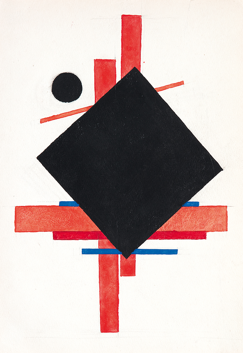 Ilja Chashnik, Composition, 1923a