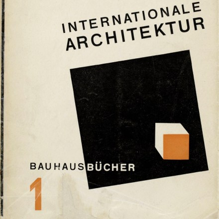 Walter Gropius International Architecture 1925 The Charnel House