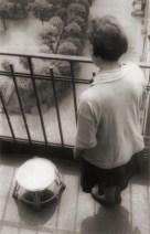 Alexander Rodchenko. 'Varvara Stepanova on a balcony' 1928 . Alexander Rodchenko Varvara Stepanova on a balcony 1928. Vintage print on Silver gelatin paper