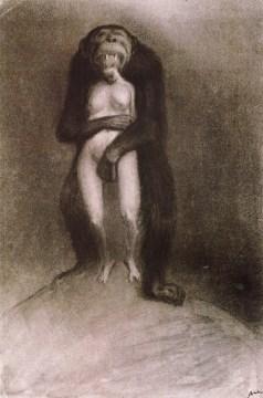 Alfred Kubin - Der Affe ca. 1903-04