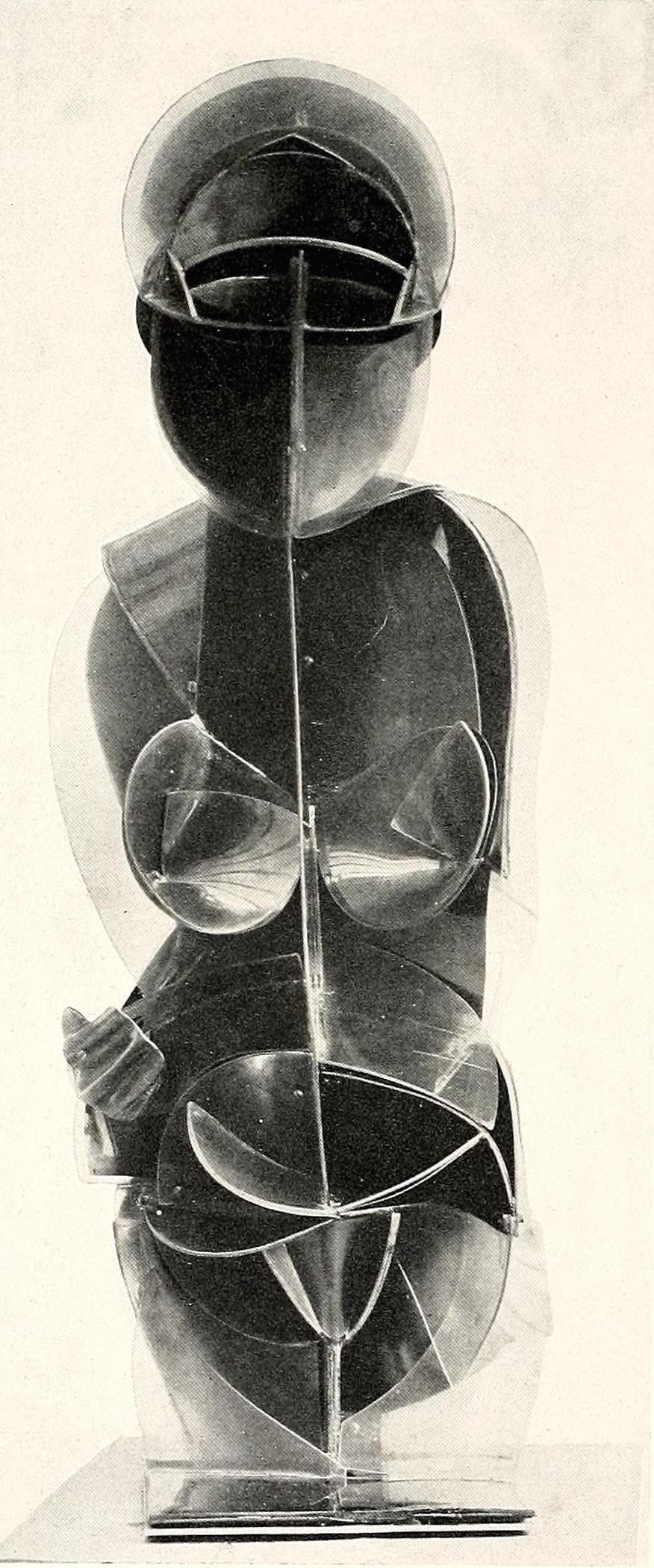 Antoine Pevsner, Torso (1924-1926), Brass and plastic