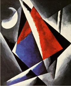 Liubov Popova, Construction, 1920 Oil on canvas, 106.8 x 88.7 cm