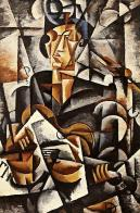 Liubov Popova, Lady with a Guitar, 1915 Oil on canvas. 107 x 71.5 cm