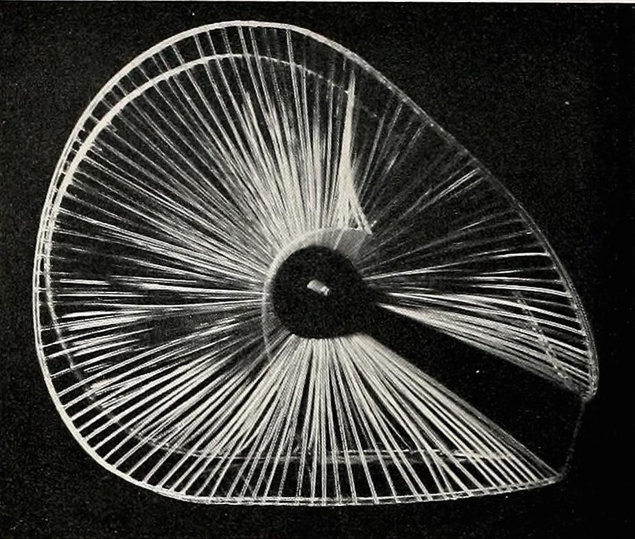 Naum Gabo, sphere construction of a fountain (1937) plastic 16 inches high3