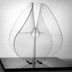 Naum Gabo Spheric Theme- Translucent Variation (c.1937, this version executed 1951 as a replacement of original of 1938–9) Perspex, diameter 57.3 cm
