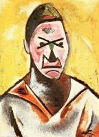 Varvara Stepanova Self-Portrait 1930, Oil on plywood, 71 x 52.5 cm