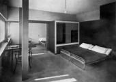 Le Corbusier, Double House, Bedroom, Weissenhofsiedlung, Stuttgart, Germany,