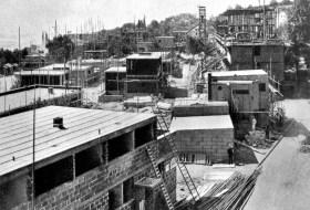 Stuttgart- Weißenhofsiedlung - Baustelle 1927