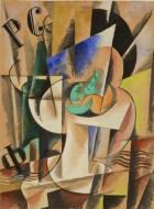 L. Popova- Abstract composition 1921