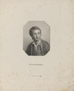 Bildnis des D. Diderot Friedrich Wilhelm Bollinger - Gebrüder Schumann - Verlagsort- Zwickau - 1818_1832 - Halberstadt, Gleimhaus