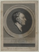 Bildnis des Diderot Augustin de Saint-Aubin - um 1800 - Halberstadt, Gleimhaus